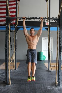 Steve Walker working out at CrossFit Palm Beach in Jupiter, Florida.